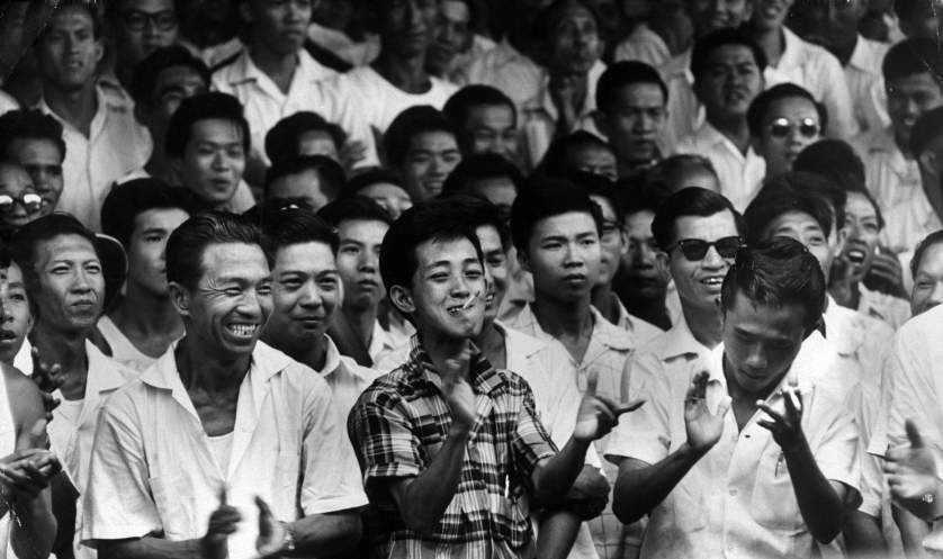 Anh: Ong Ly Quang Dieu trong cuoc tong tuyen cu Singapore 1959-Hinh-10