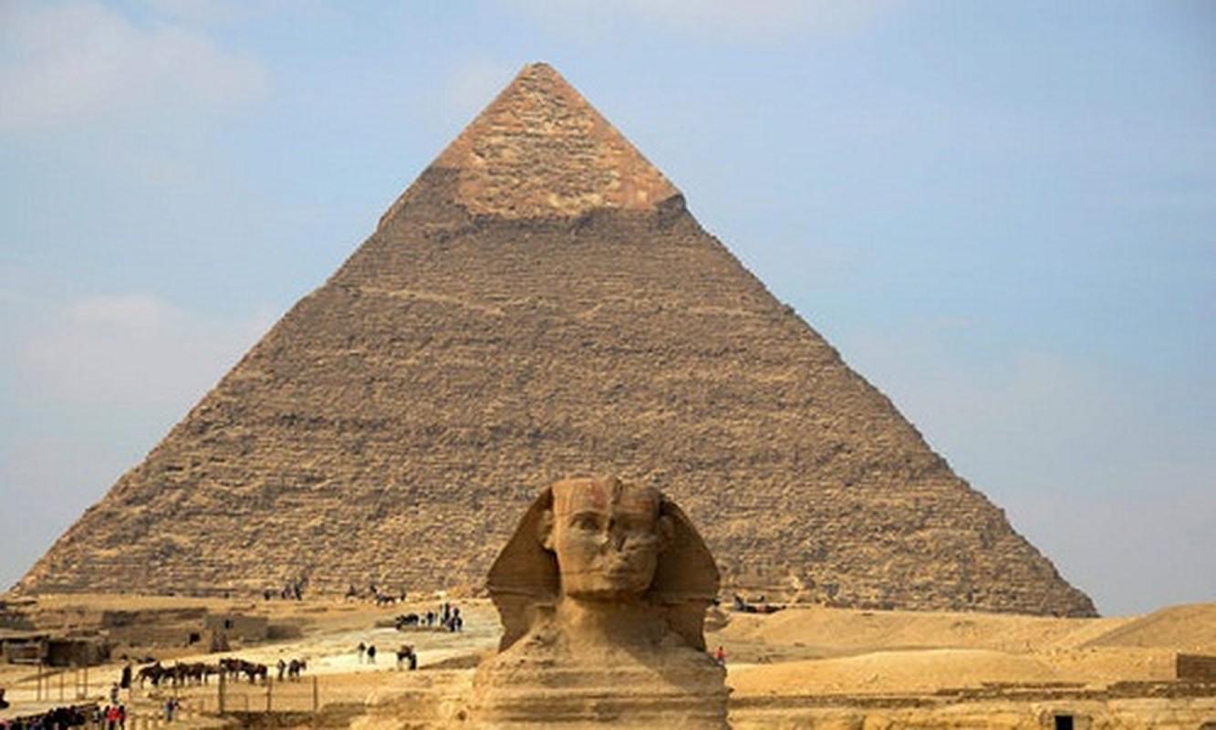 Giat minh nang luong huyen bi trong dai kim tu thap Giza