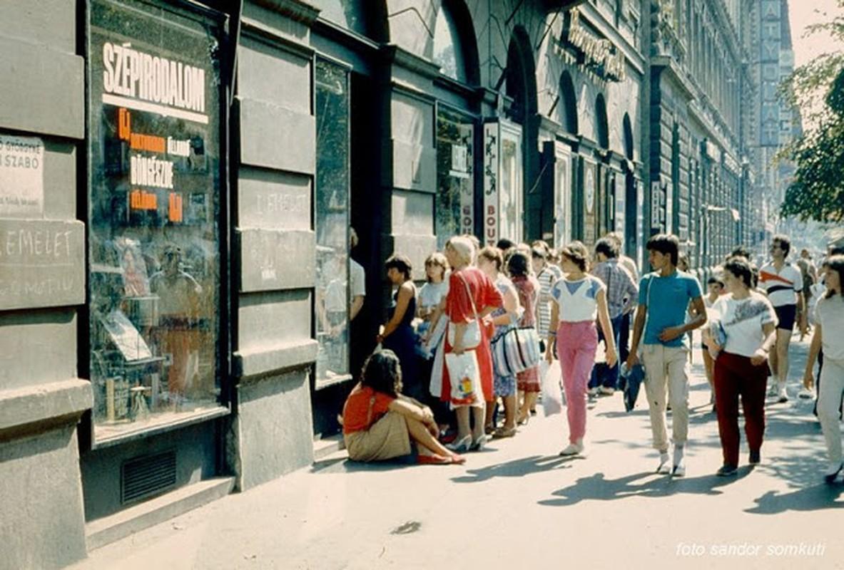 Bo anh mau tuyet dep Budapest nhung nam 1980
