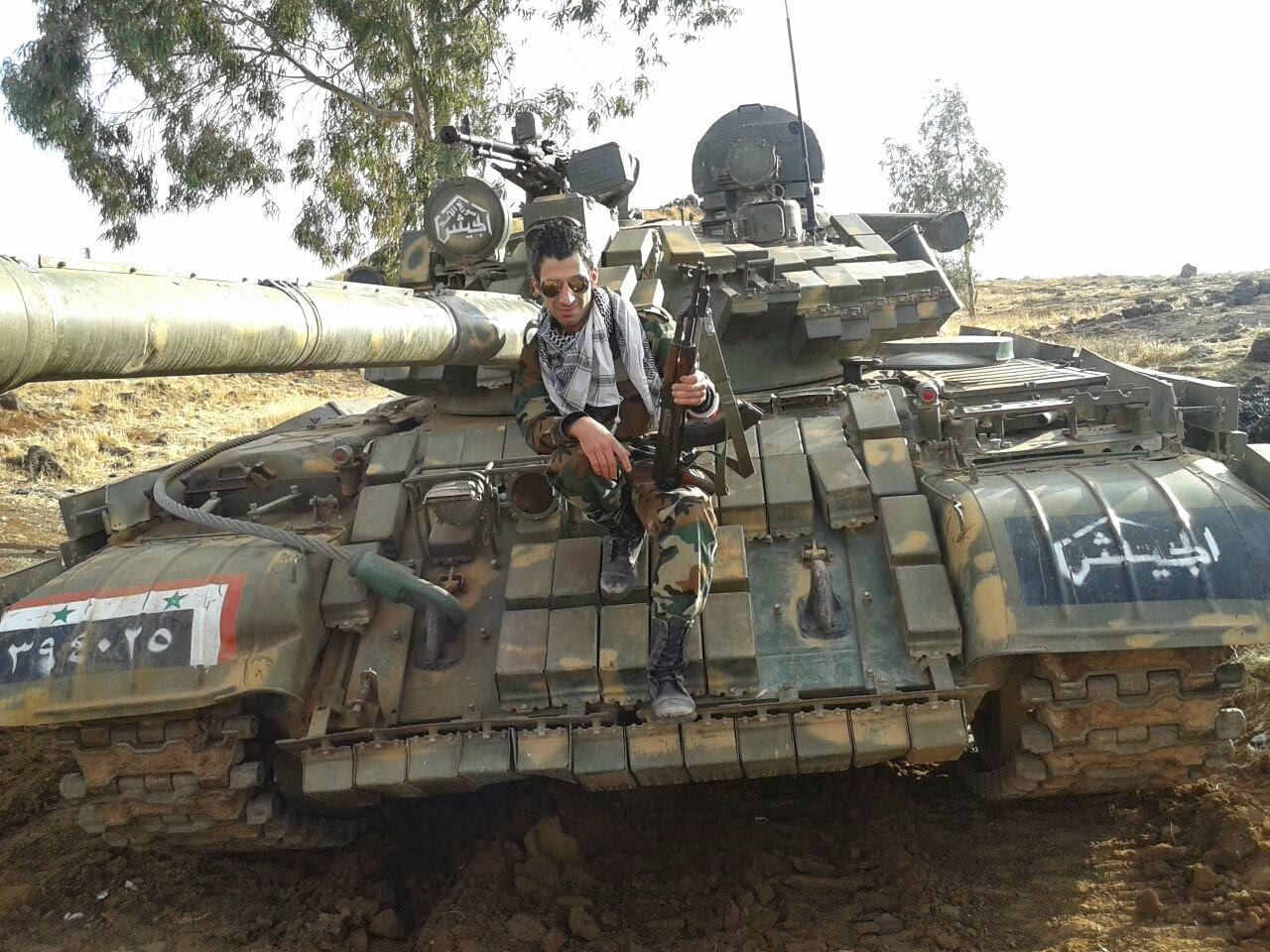 Can canh xe tang T-55 Syria tung hoanh can quet IS-Hinh-5