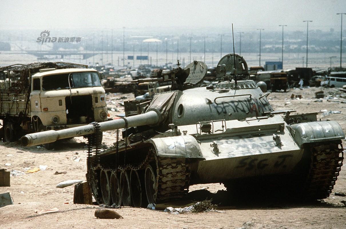 Nhoi long loat anh xe tang T-55 bi huy diet-Hinh-7