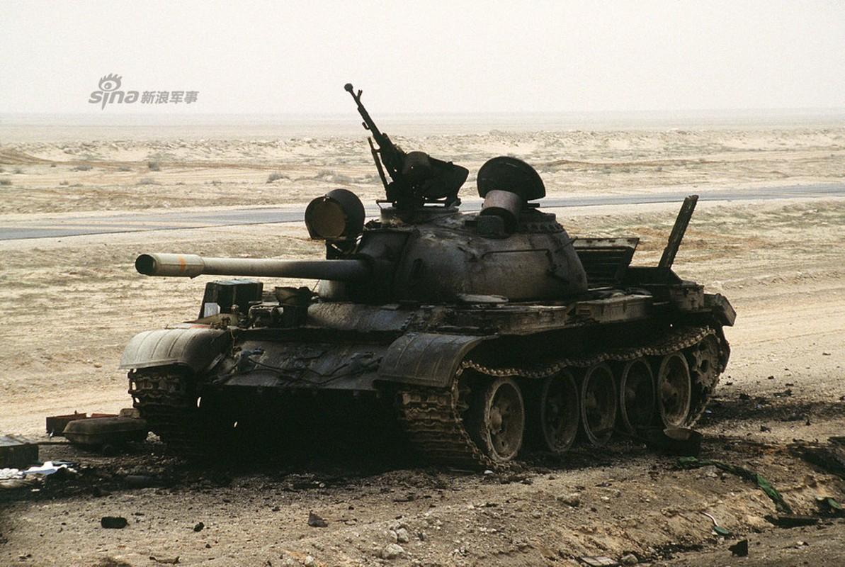 Nhoi long loat anh xe tang T-55 bi huy diet-Hinh-9