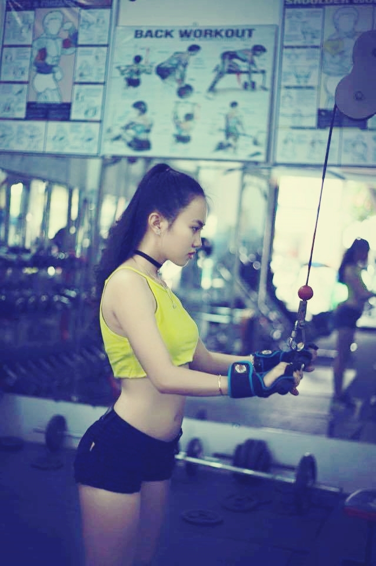 Tuoi tho co cuc trong xom Lo Heo cua hot girl phong gym-Hinh-12