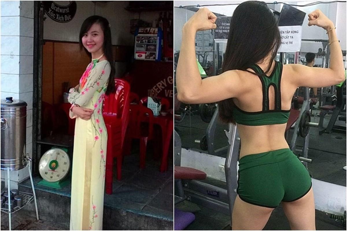 Tuoi tho co cuc trong xom Lo Heo cua hot girl phong gym