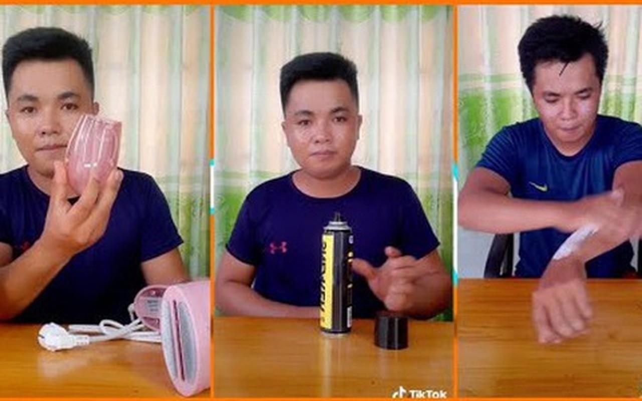 Hot TikToker chuyen lat tay hang rom tren mang