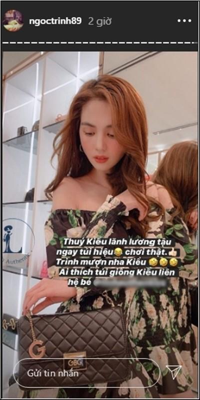 Tro ly Ngoc Trinh bat ngo tiet lo man