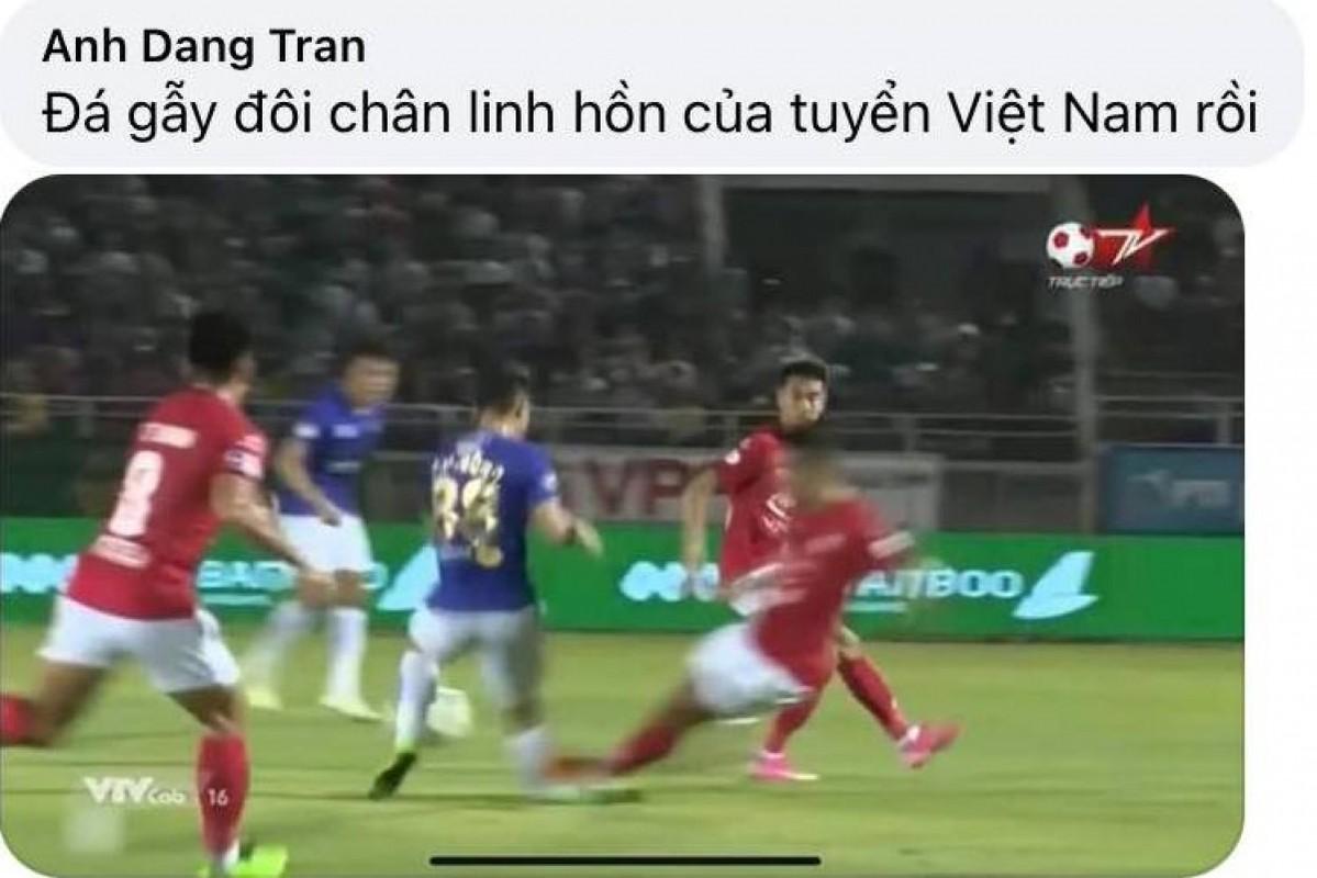 Do Hung Dung gay chan, netizen trut gian len Facebook Ngo Hoang Thinh-Hinh-4