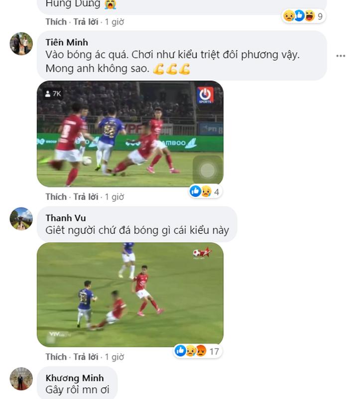 Do Hung Dung gay chan, netizen trut gian len Facebook Ngo Hoang Thinh-Hinh-8