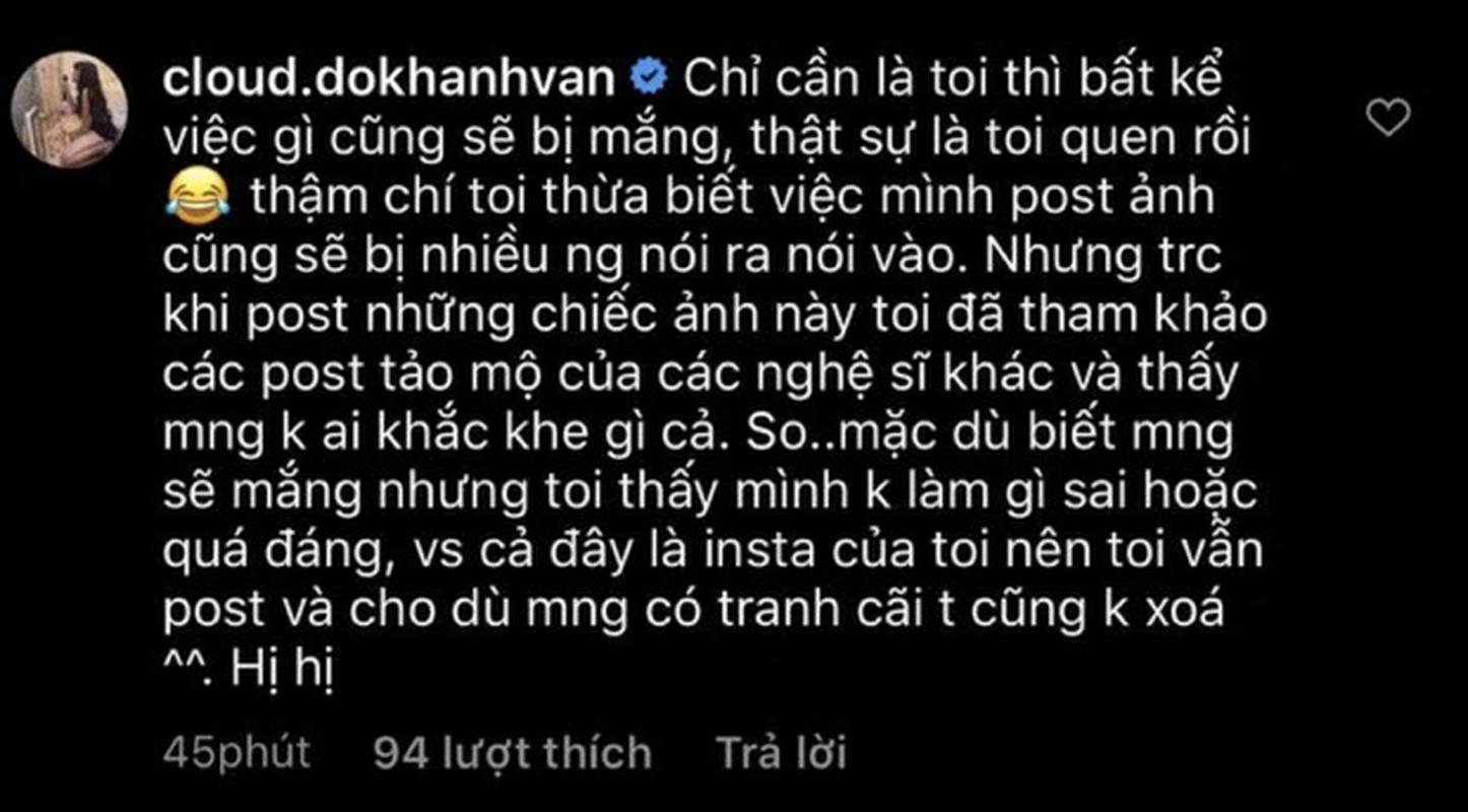 Tao dang o mo nguoi than, hot girl Mat Biec gay tranh cai-Hinh-5