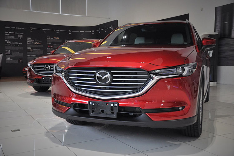 Xe SUV Mazda CX-8 se ve Viet Nam trong thang 6/2019