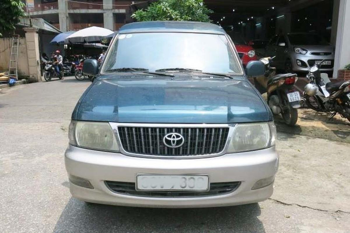 Xe Toyota Zace cu dung chan, ban dat hon ca Innova-Hinh-10