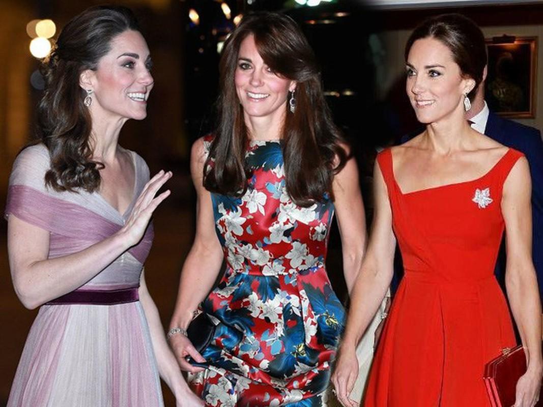 Kate Middleton mac vay coc tay dep nho co bi quyet nay