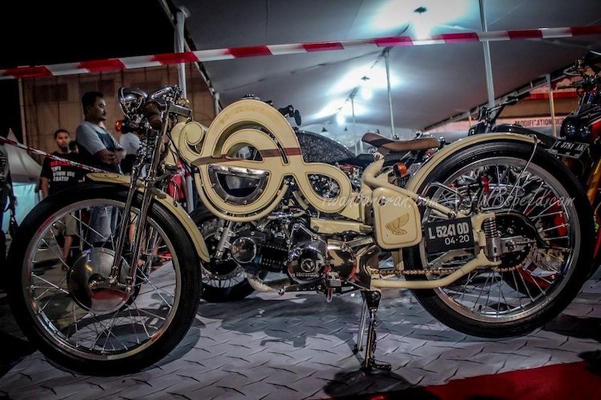 """Da mat ngam dan xe Honda do """"sieu khung"""" tai Indonesia-Hinh-5"""