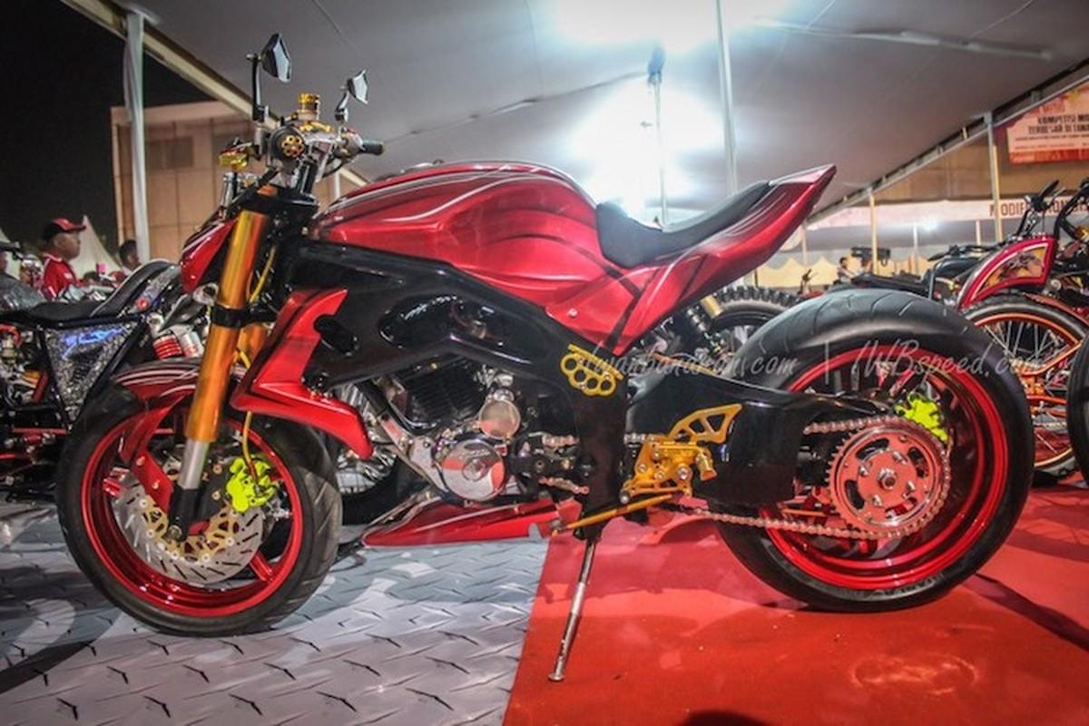 """Da mat ngam dan xe Honda do """"sieu khung"""" tai Indonesia-Hinh-8"""