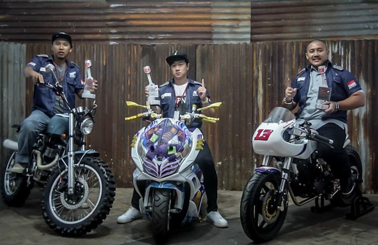 """Da mat ngam dan xe Honda do """"sieu khung"""" tai Indonesia-Hinh-9"""