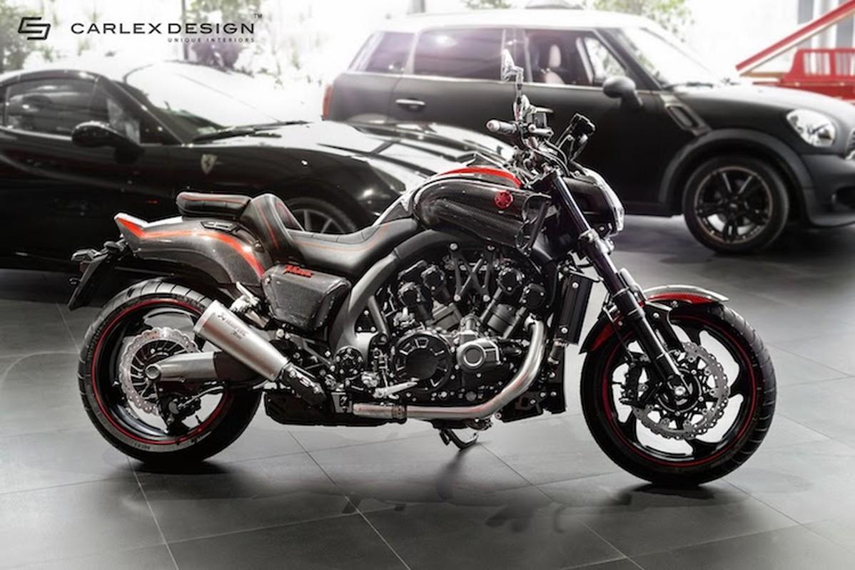 """Ma toc do"" Yamaha Vmax sieu ngau phien ban carbon Carlex-Hinh-6"