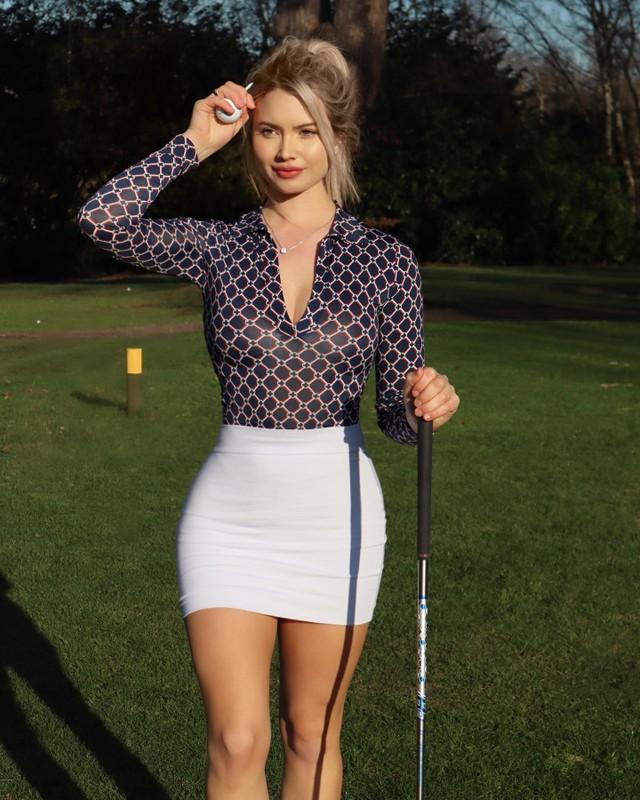 Nu golfer Lucy Robson so huu than hinh boc lua, xinh nhu thien than-Hinh-11