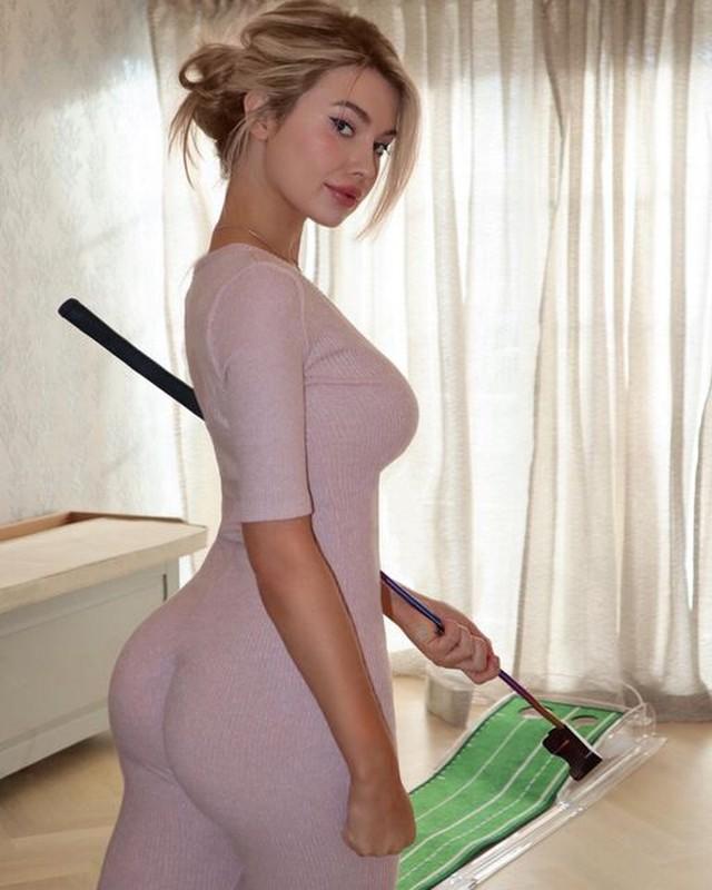 Nu golfer Lucy Robson so huu than hinh boc lua, xinh nhu thien than-Hinh-7