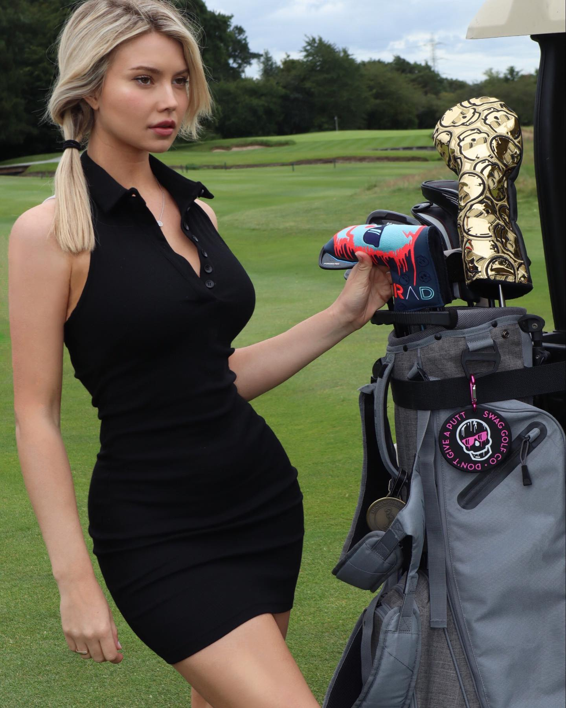 Nu golfer Lucy Robson so huu than hinh boc lua, xinh nhu thien than