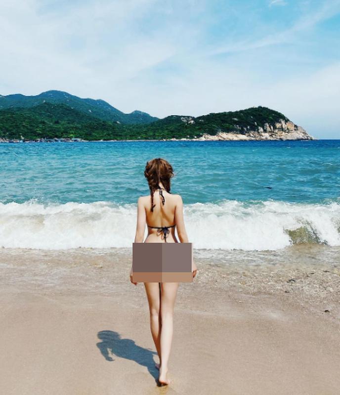 Dien bikini hoi cuu hot girl khang dinh