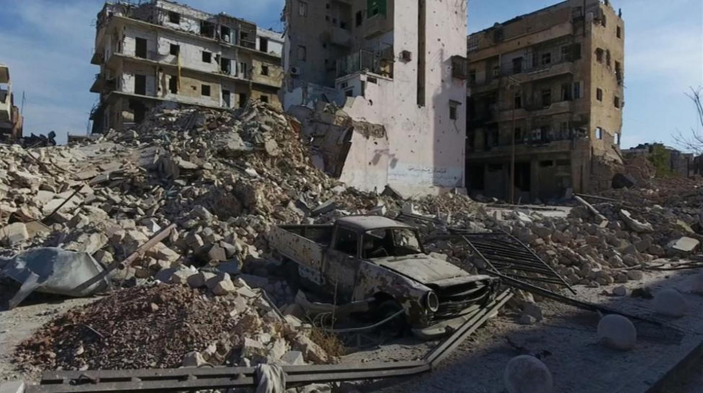 Kinh hoang canh tuong nhu bai tha ma o thanh pho Aleppo