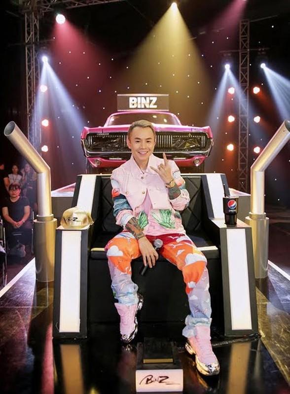 "Rapper Binz noi loan che kin ca mat van ""chat nhu nuoc cat"""