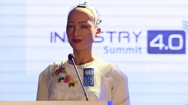 Robot Sophia tung muon huy diet loai nguoi nay thich lam nhac si-Hinh-6
