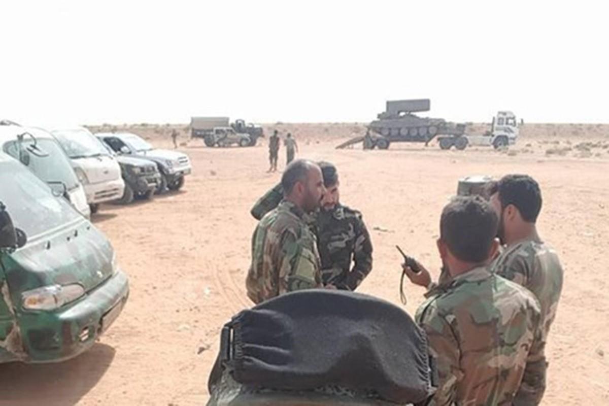 Lo dien sieu vu khi giup Syria than toc giai phong Deir-Ezzor