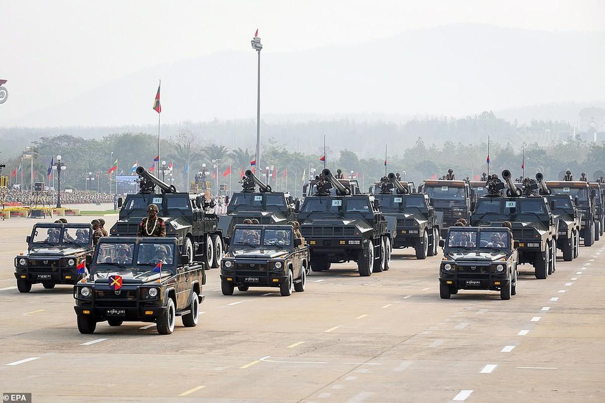Dan vu khi khung cua Myanmar trong le duyet binh giua bien dong-Hinh-10