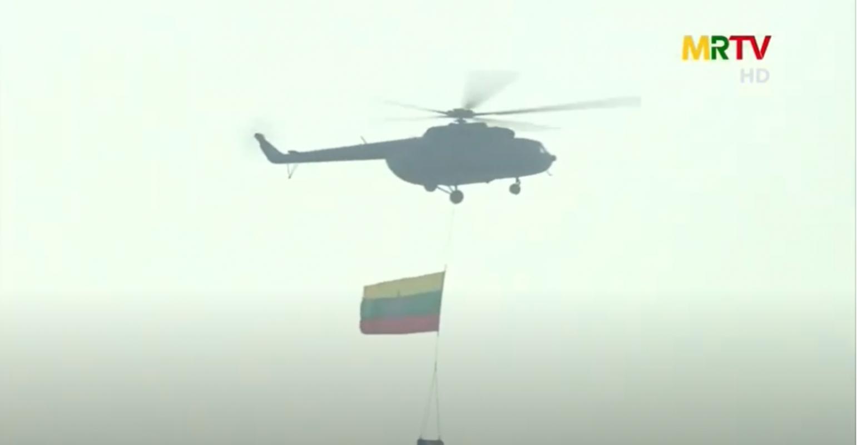 Dan vu khi khung cua Myanmar trong le duyet binh giua bien dong-Hinh-9