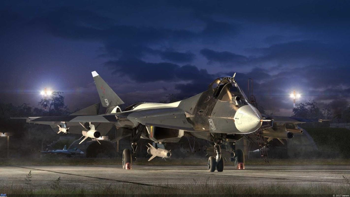 Nong: Tiem kich Su-57 mang duoc toi da 16 tan vu khi!