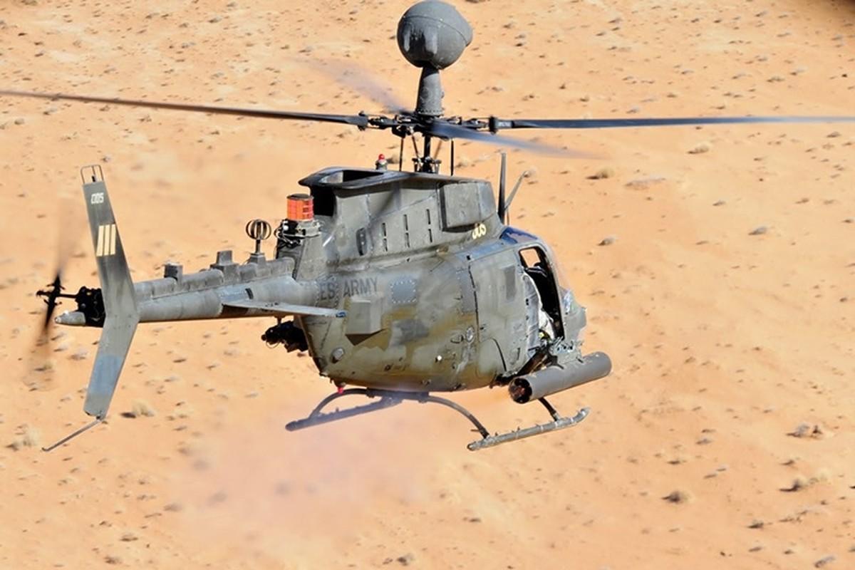 """Anh: Truc thang """"Chien binh"""" trinh sat OH-58D Kiowa cua quan doi My-Hinh-10"""