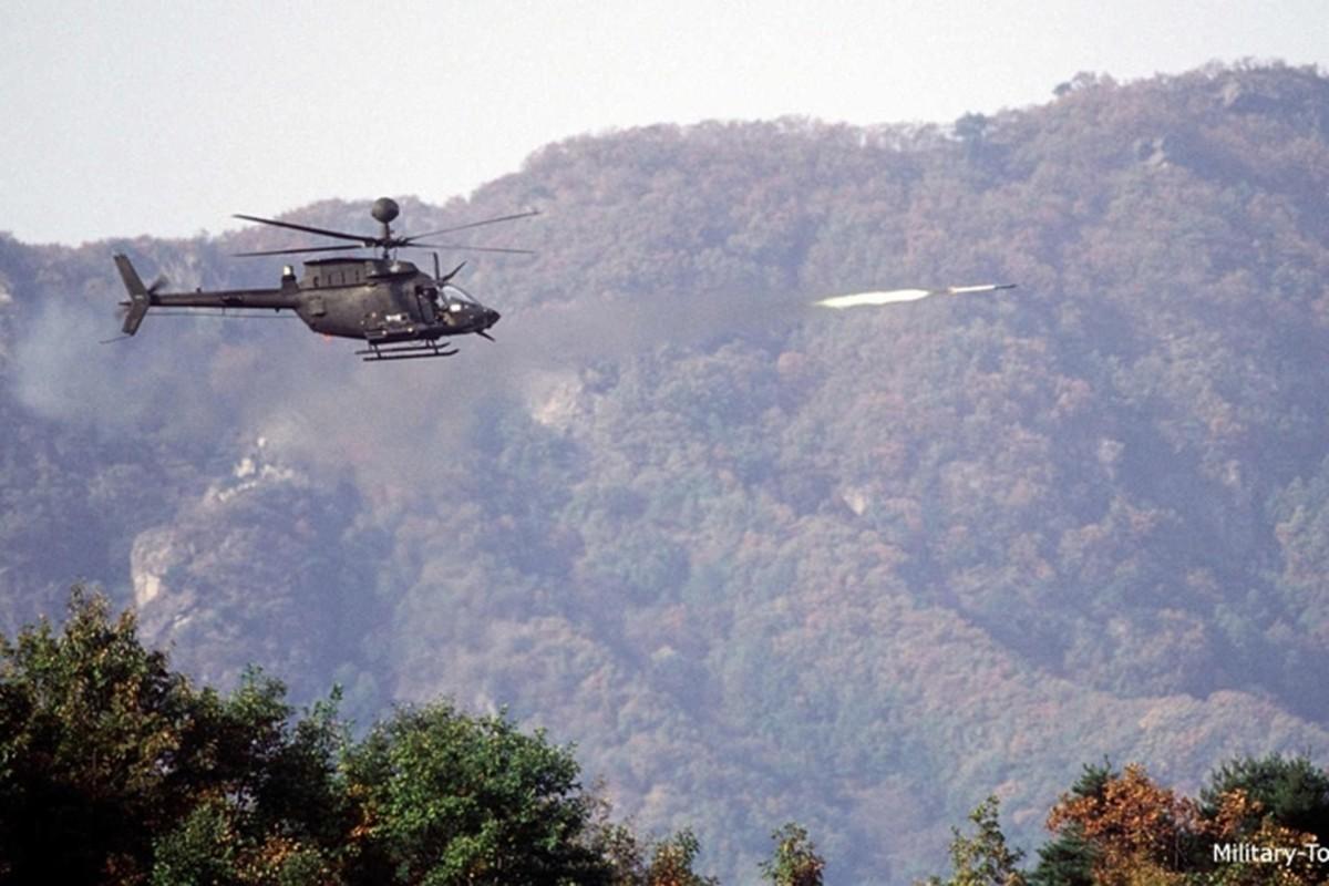 """Anh: Truc thang """"Chien binh"""" trinh sat OH-58D Kiowa cua quan doi My-Hinh-12"""