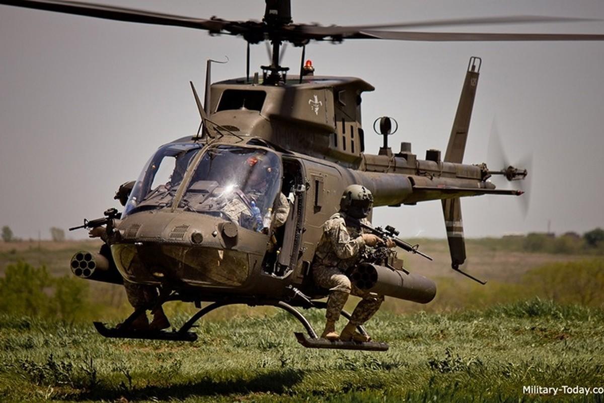 """Anh: Truc thang """"Chien binh"""" trinh sat OH-58D Kiowa cua quan doi My-Hinh-4"""