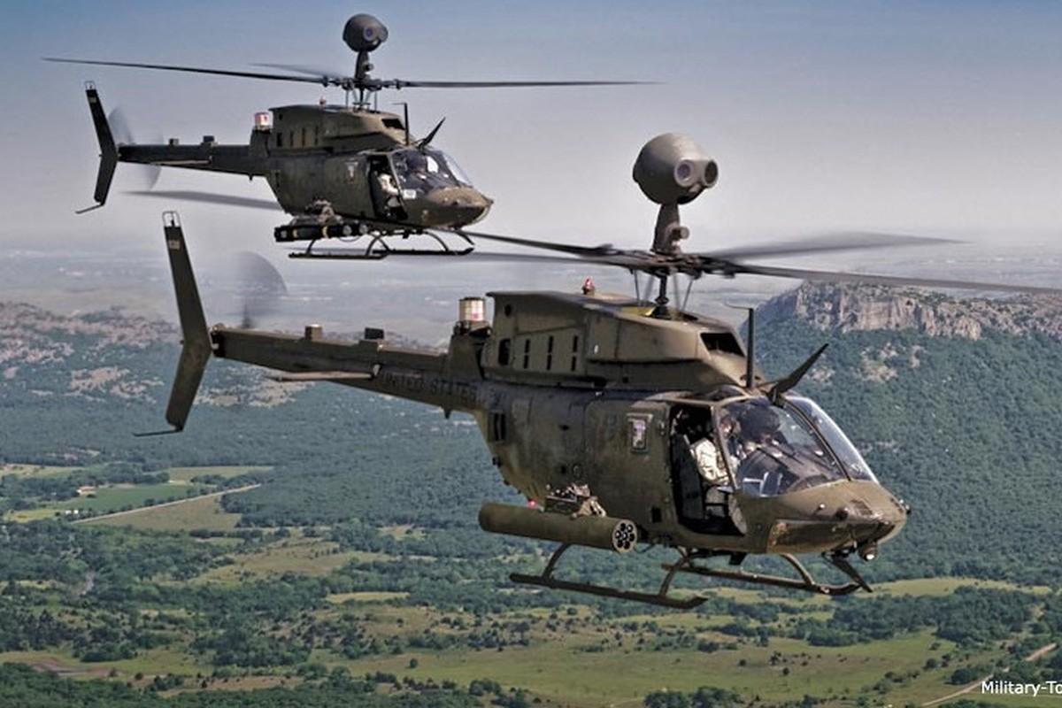 """Anh: Truc thang """"Chien binh"""" trinh sat OH-58D Kiowa cua quan doi My-Hinh-5"""