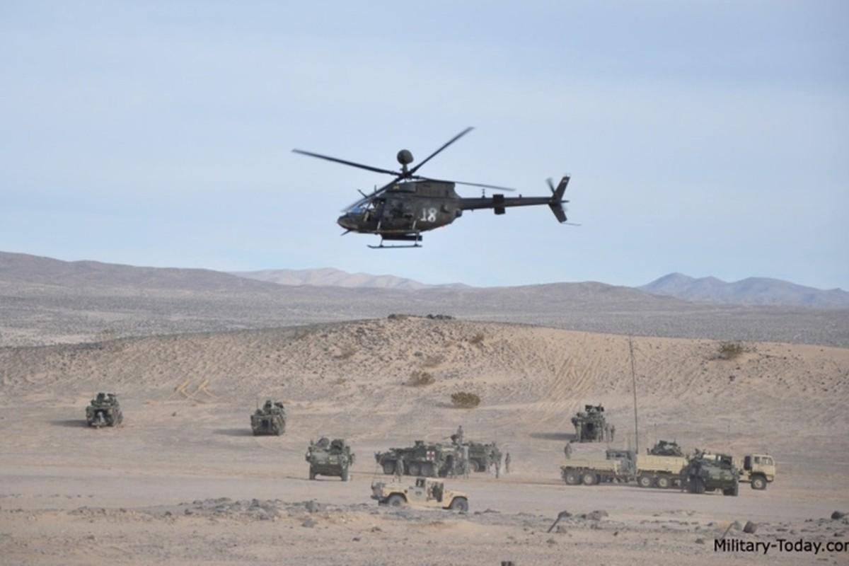 """Anh: Truc thang """"Chien binh"""" trinh sat OH-58D Kiowa cua quan doi My-Hinh-7"""