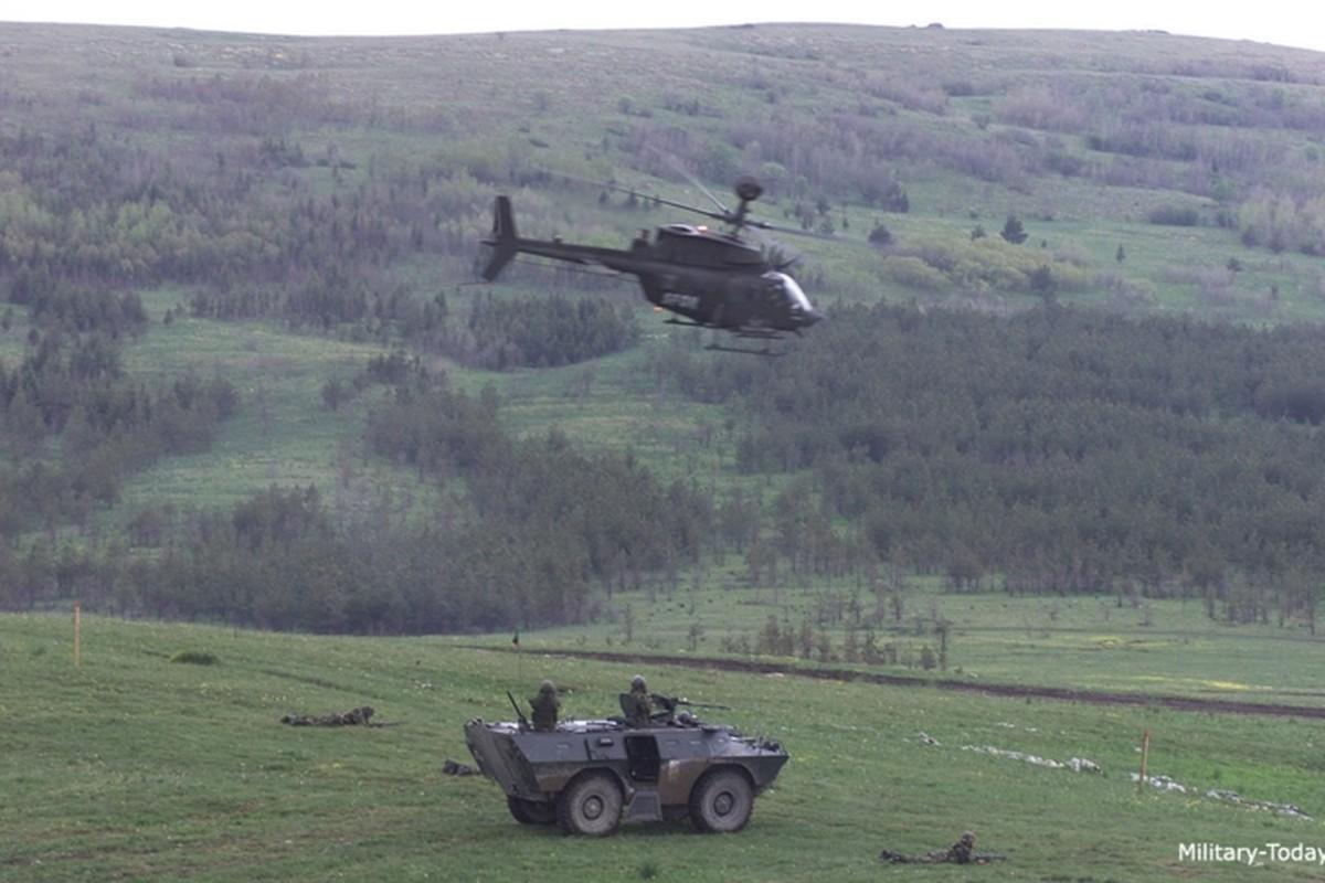 """Anh: Truc thang """"Chien binh"""" trinh sat OH-58D Kiowa cua quan doi My-Hinh-8"""