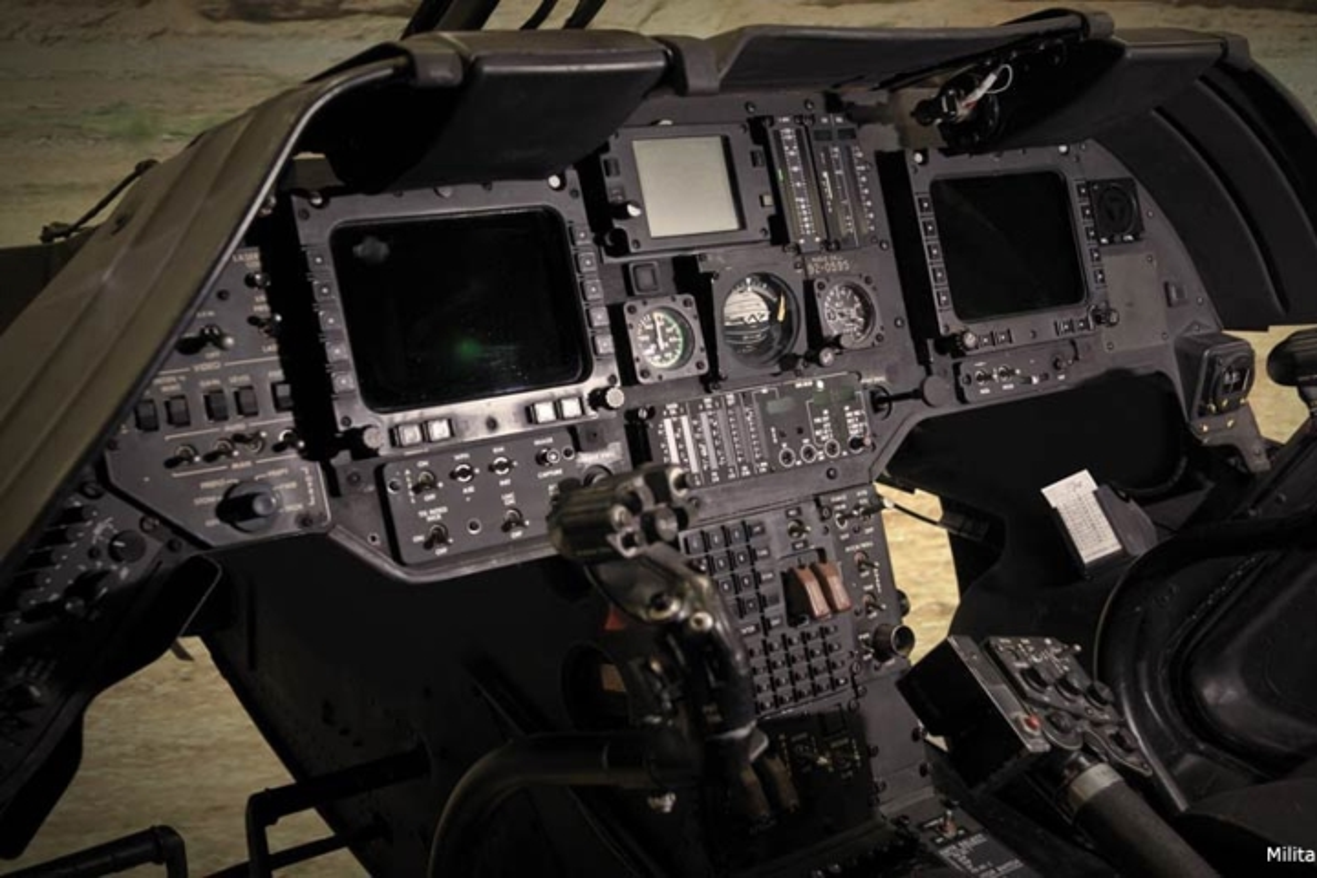 """Anh: Truc thang """"Chien binh"""" trinh sat OH-58D Kiowa cua quan doi My-Hinh-9"""