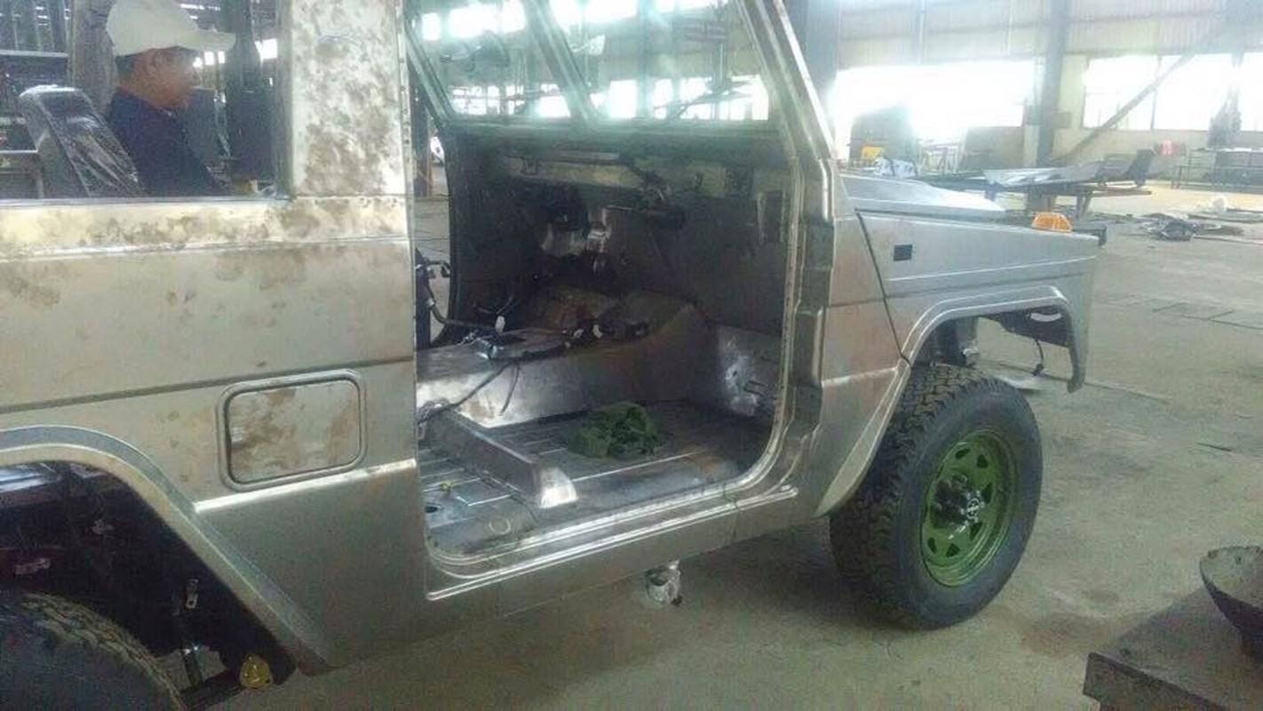 Bat ngo: Myanmar tu san xuat xe Jeep quan su nhu UAZ Lien Xo-Hinh-2