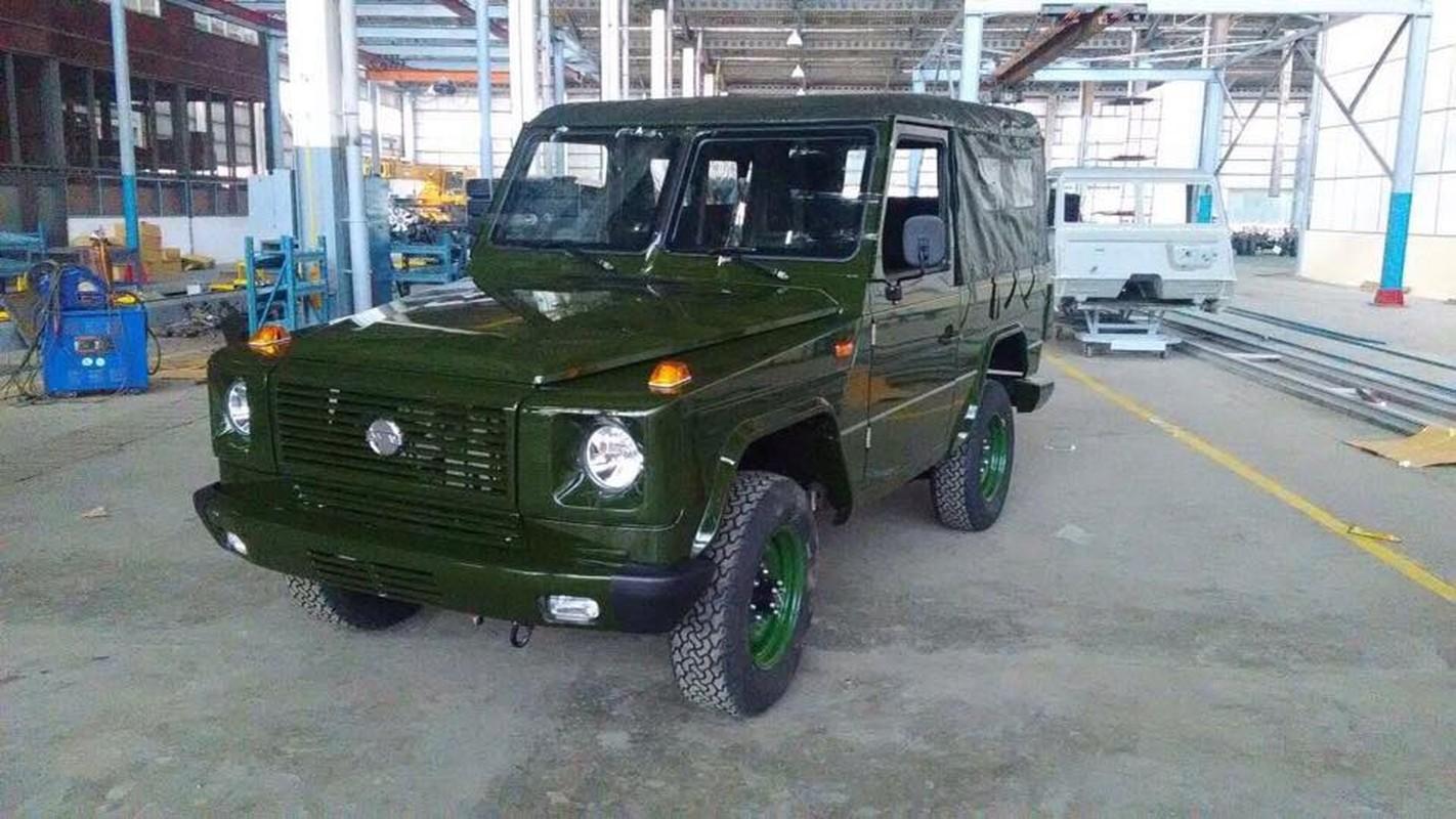 Bat ngo: Myanmar tu san xuat xe Jeep quan su nhu UAZ Lien Xo
