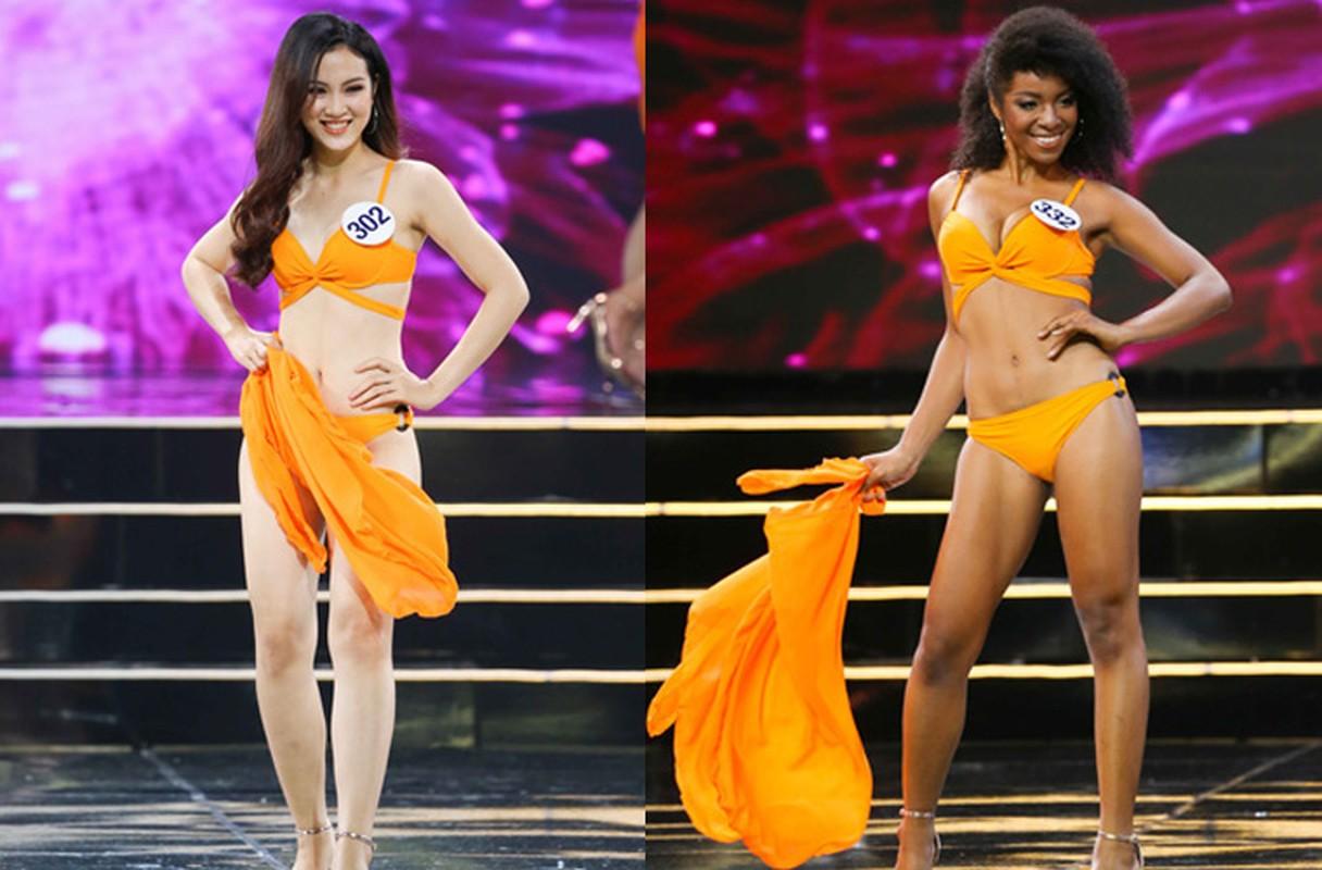 Thi sinh Hoa hau Hoan vu VN nuot na voi bikini trong ban ket-Hinh-6