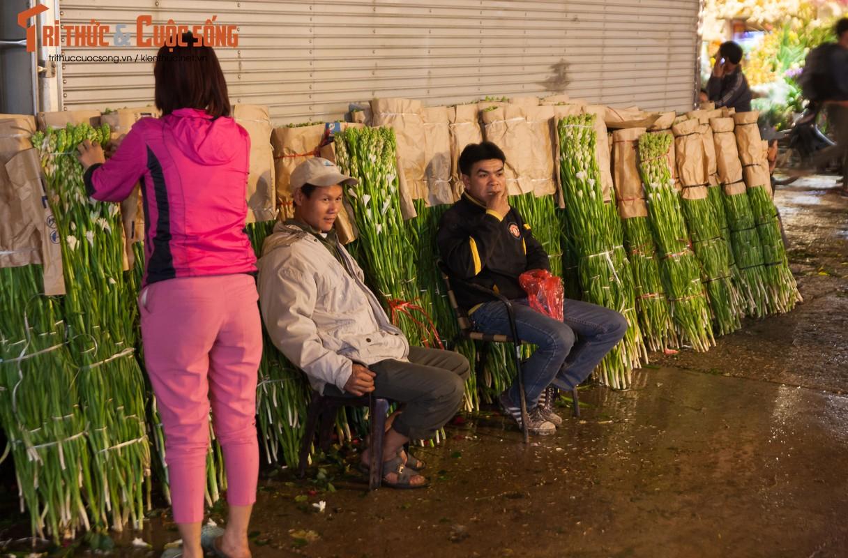 Anh: Nhung khuon mat met nhoai trong phien cho hoa dem can Tet-Hinh-7