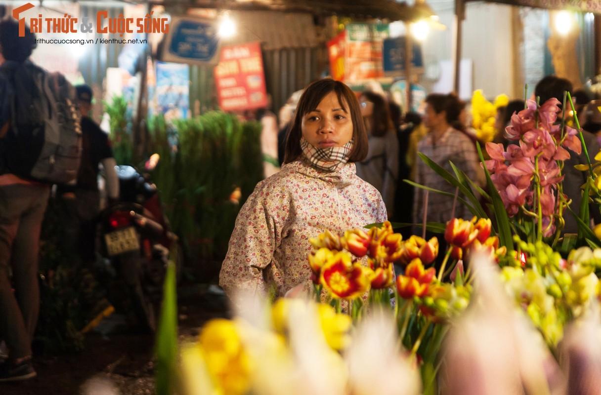Anh: Nhung khuon mat met nhoai trong phien cho hoa dem can Tet-Hinh-9