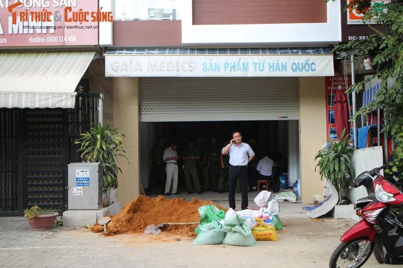 Quang Nam: Duong day 110kv phong dien gay hau qua kinh hoang