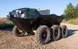 Green Scout - ATV lưỡng cư 6 bánh chạy điện hơn 230 triệu đồng