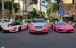 """Dàn siêu xe, xe sang hồng nữ tính """"khoe dáng"""" tại Sài Gòn"""