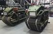 Chi tiết xe máy địa hình Hamyak bánh xích, phong cách xe tăng