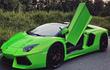 """Lamborghini Aventador Roadster xanh lá """"độc lạ"""" xuất hiện tại Sài thành"""