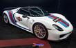 """Porsche 918 Spyder """"diện áo"""" Martini cực đẹp, độc nhất Philippines"""