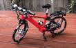 Chi tiết xe đạp địa hình được làm bằng 999 mảnh ghép LEGO